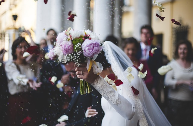 Les photos de couple pendant un mariage