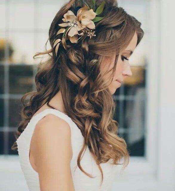 Coiffure mariée: choisir les extensions de cheveux