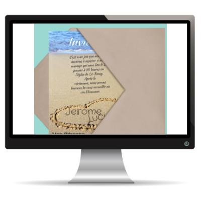 Le faire-part de mariage virtuel ou le carton d'invitation 2.0
