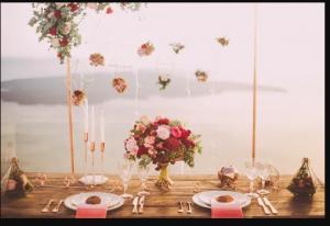 Quelques étapes pour décorer les tables de mariage